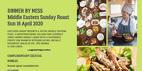 Outdoor Middle Eastern Sunday Roast : Moregeous Supper Club tickets