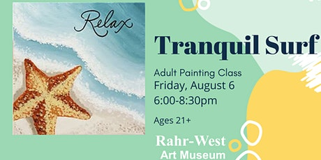 Tranquil Surf Adult Painting Class tickets