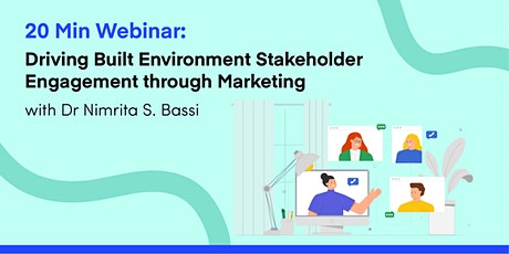 Driving Built Environment Stakeholder Engagement through Marketing tickets