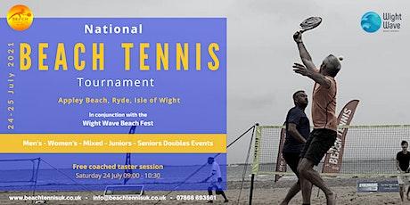 National Beach Tennis Tournament tickets
