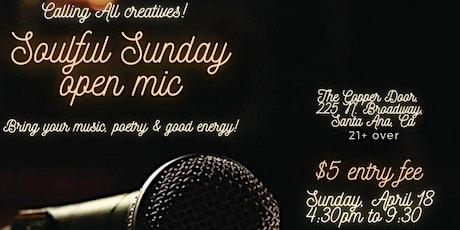 Soulful Sunday Open Mic tickets