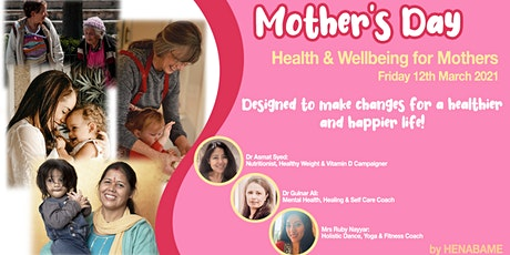 Mother's Health & Wellbeing. Pregnancy & Postpartum Nutrition, Mind & Body tickets