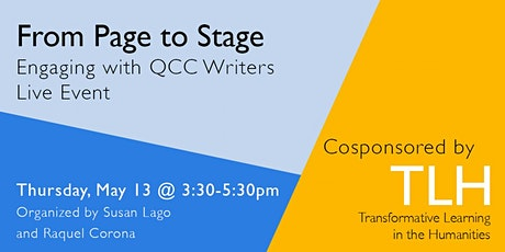From Page to Stage: Engaging with QCC Writers Live Event tickets