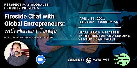 Conversando con Emprendedores Internacionales: Hemant Taneja entradas