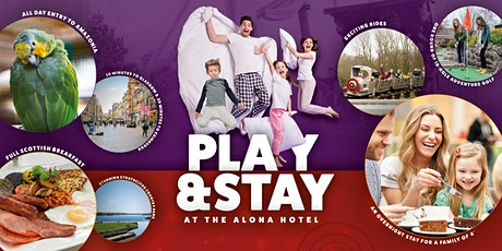 Play & Stay at the Alona 4 Star Hotel tickets