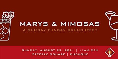 Marys & Mimosas - A Sunday Funday Brunchfest tickets