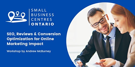 SEO, Reviews & Conversion Optimization for Online Marketing Impact tickets