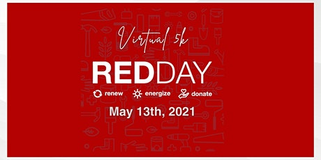 KW RED Day Virtual 5K tickets