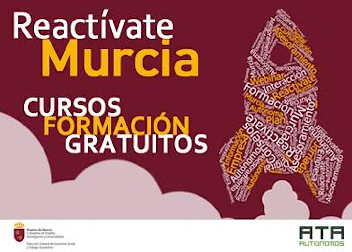 Imagen de Cursos para Autónomos y desempleados Reactívate Murcia