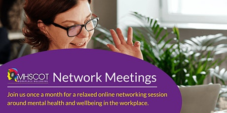 MHScot Mental Health & Wellbeing Network Event tickets