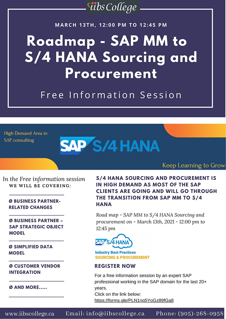 """""""SAP MM to S/4 HANA sourcing and procurement essentials"""" –Free Information image"""
