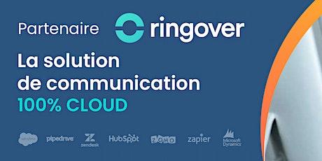 Démo live de RingOver - La téléphonie VoIP la plus performante billets