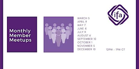 Monthly Member Meetups tickets