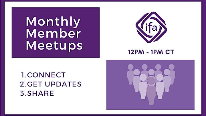Monthly Member Meetups image