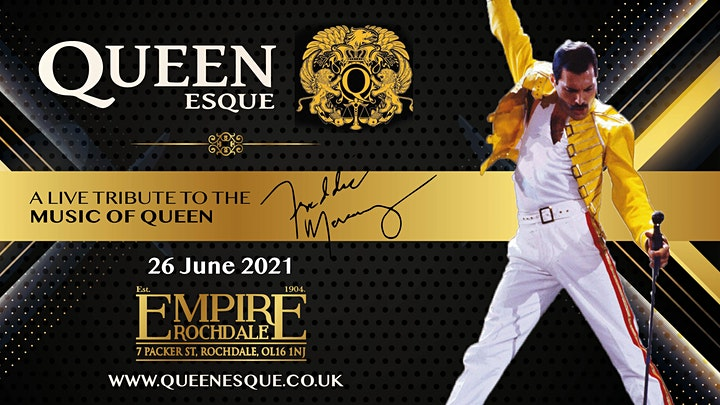 Queen Esqui Live At Empire Rochdale image