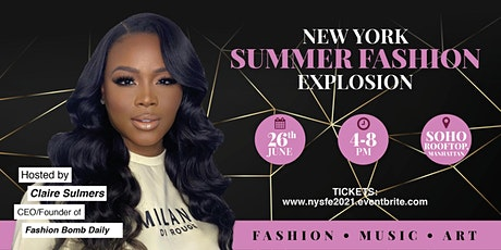 New York Summer Fashion Explosion ( NYSFE 2021) entradas