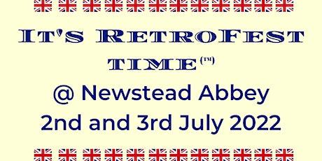 It's RetroFest Time @ Newstead Abbey tickets