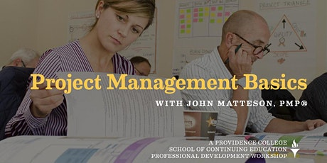 Overview of Project Management - part of Project Management Basics Series tickets