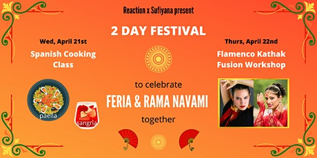 2 Day Festival Celebrating Feria and Rama Navami with Food and Dance tickets