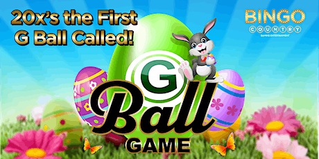 """""""G"""" Ball Game - April 15th - Easter Party tickets"""