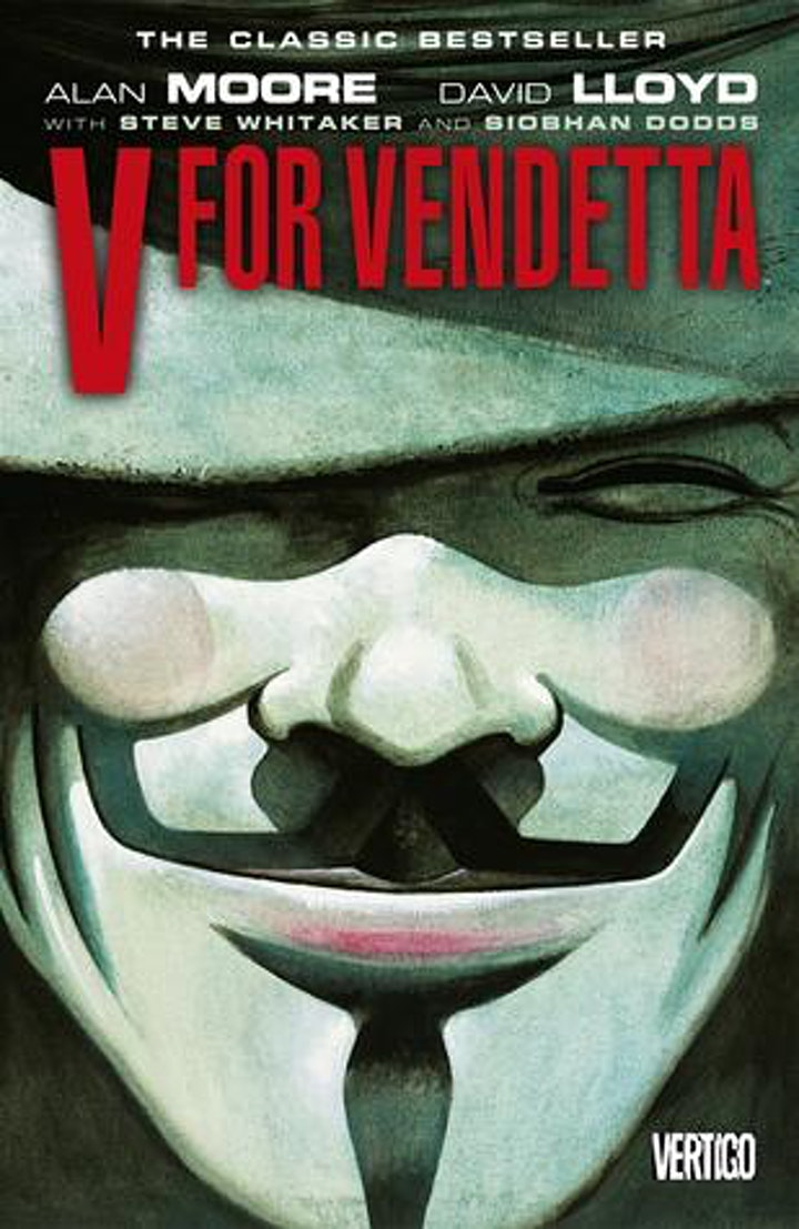 Beyond Shelves-  From the pages of V for Vendetta, An Evening with V. image