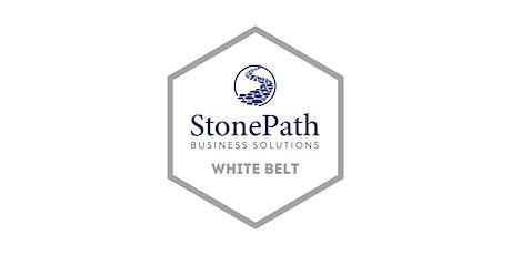 Lean Six Sigma White Belt Certification tickets