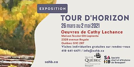 Exposition «Tour d'horizon», oeuvres de Cathy Lachance billets
