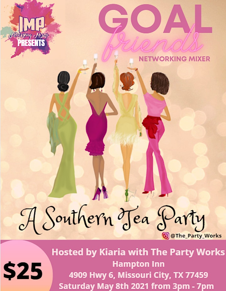 Goal Friends Networking Mixer - A Southern Tea Party image