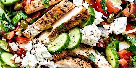 UBS - Virtual Cooking Class: Mediterranean Chicken Salad tickets