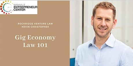 Gig Economy Law 101 tickets