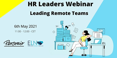 HR Leaders Webinar: Leading Remote Teams tickets