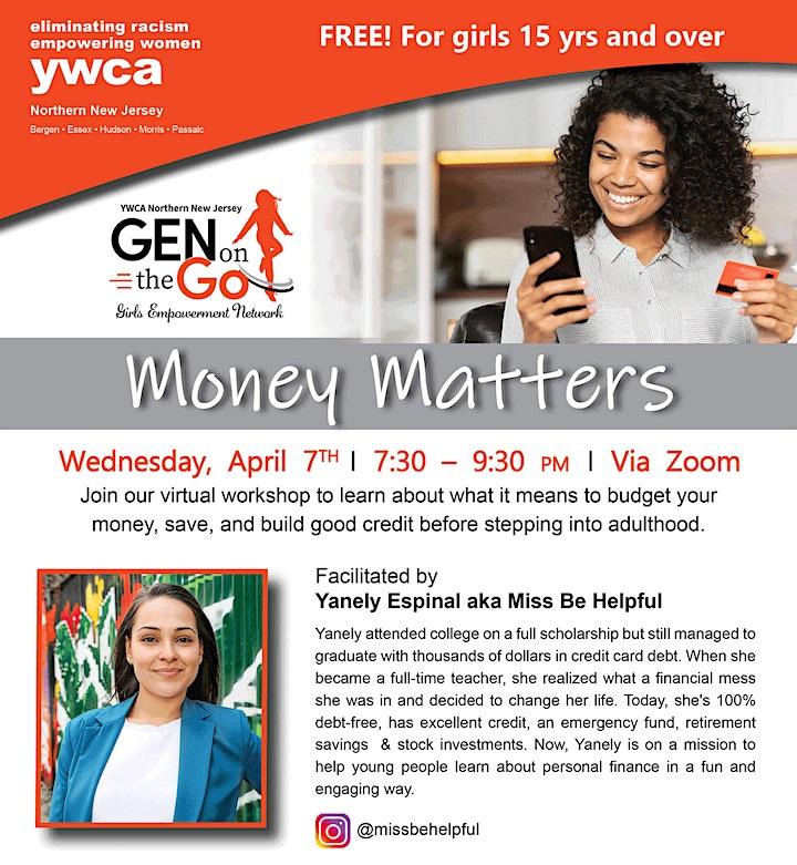 Girls Empowerment Network: Money Matters image
