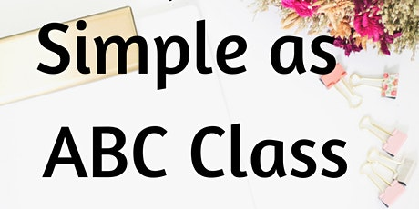 Simple As ABC Class tickets