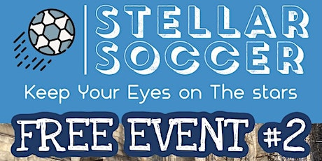 Stellar Soccer FREE class ages 3-4 tickets