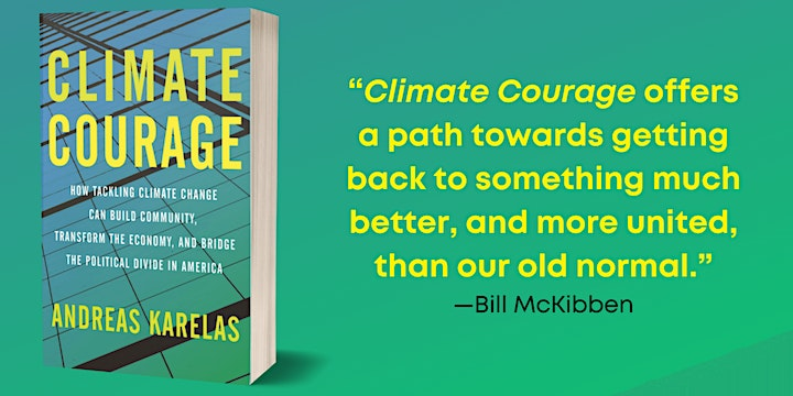 Solar Ed Week Keynote Event: Climate Courage Book Talk with Andreas Karelas image