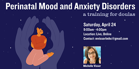 Perinatal Mood & Anxiety Disorders: a training for doulas tickets