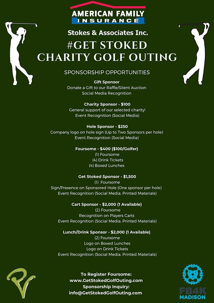 #GetStoked Charity Golf Outing image
