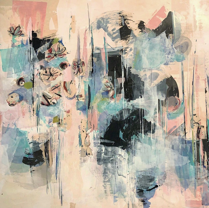 Mixed Media Abstract Art Class image