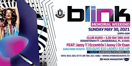 Blink Memorial Weekend '21 tickets