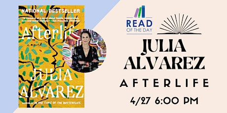 Read of The Day with Julia Alvarez tickets