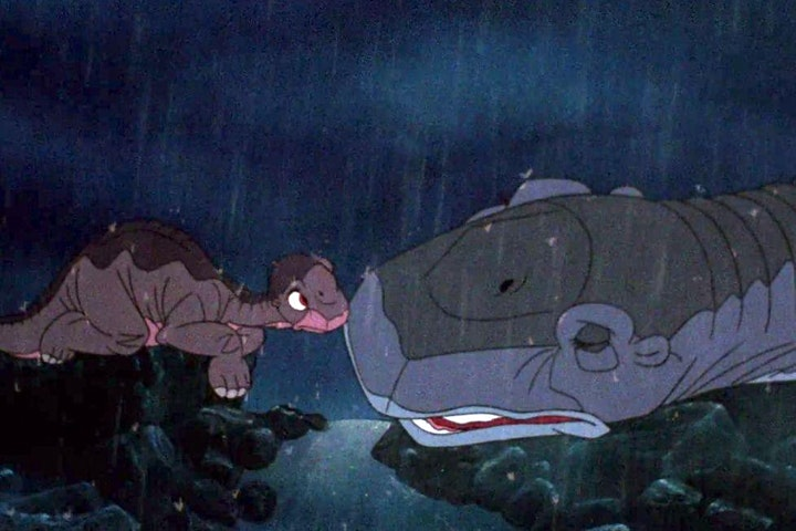 Starlite Drive In Movies - THE LAND BEFORE TIME image