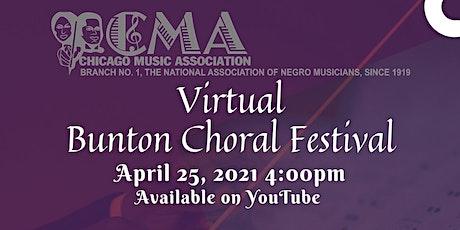 Bunton Choral Festival tickets
