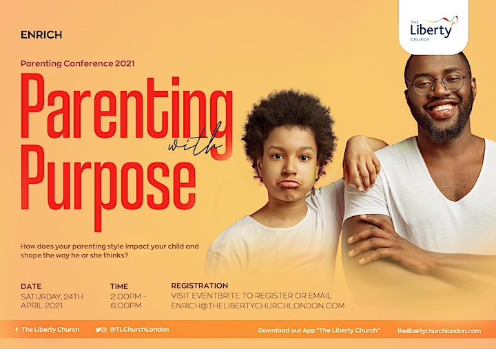 TLC Parenting Conference 2021 - Parenting With Purpose image