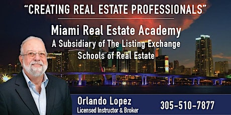 FLORIDA REAL ESTATE LICENSING VIRTUAL CLASS - ONLY 12 HOURS - 07-13-2021 tickets