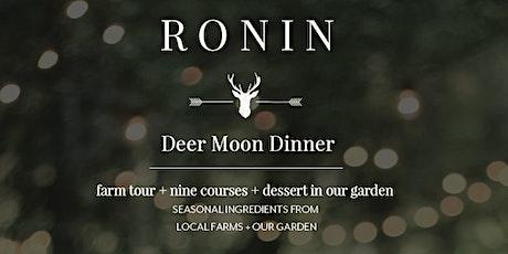 Deer Moon Dinner tickets