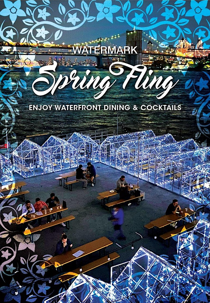 "WEDNESDAYS: ""SPRING FLING"" ON THE PIER! VIP ""GLASSHOUSES"" & OUTDOOR SEATING image"