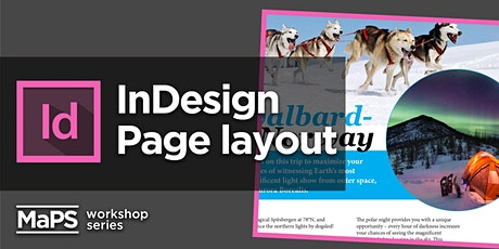 Page Layout Foundations using Adobe InDesign tickets