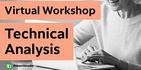 Technical Analysis Virtual Workshop Tickets