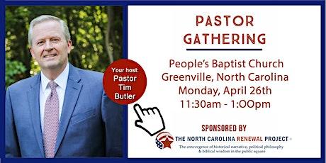 Pastor Gathering-Greenville, NC tickets