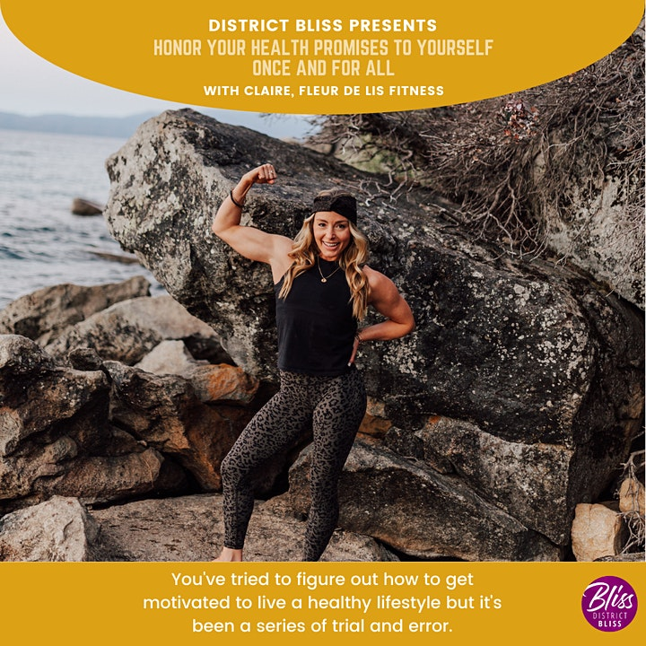 Honor Your Health Promises to Yourself, Once & for All (Workshop + Workout) image